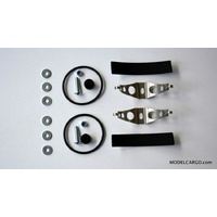 Samba Racing fixing kit - double 50 mm